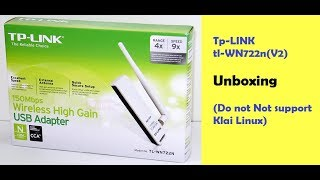 Tp-LINK TL-WN722N Wireless Adapter Unboxing and Review.