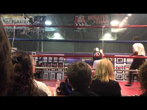 Boxing Peter Rallo vs. Owen Saldona at Warehouse Boxing Highland Park IL 11/10/12