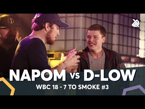 NAPOM vs D-LOW | WBC 7ToSmoke Battle 2018 | Battle 3
