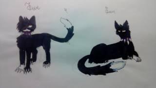 Мои рисунки Котов Воителей #3