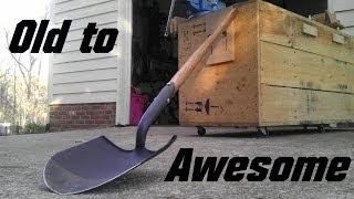 Restoring a True Temper Shovel | Woodsman Tools