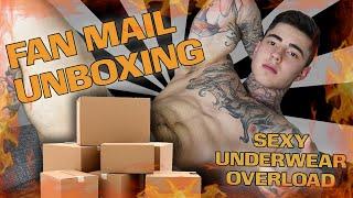 Underwear Overload!?   Fan Mail Unboxing