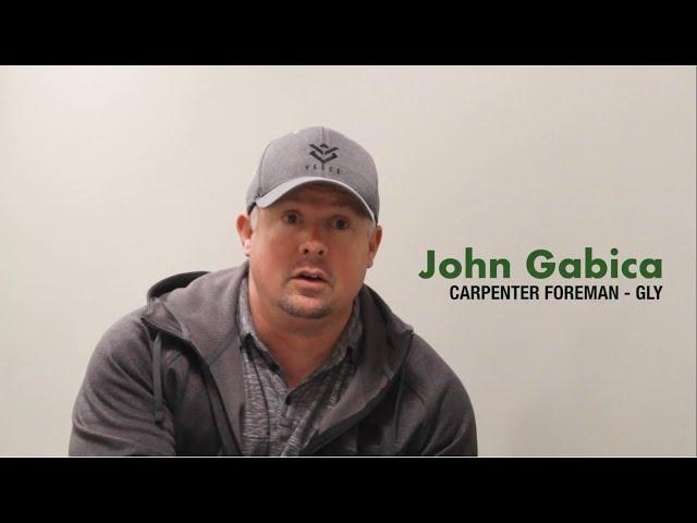 John Gabica - GLY - Foreman Basic Training Testimonial