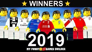 Football Winners of the Year • Summer 2019 • Top Finals in Lego Football Film