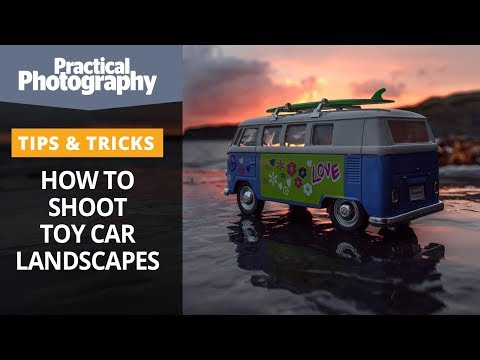 How to shoot toy car landscapes (forced perspective explained!)