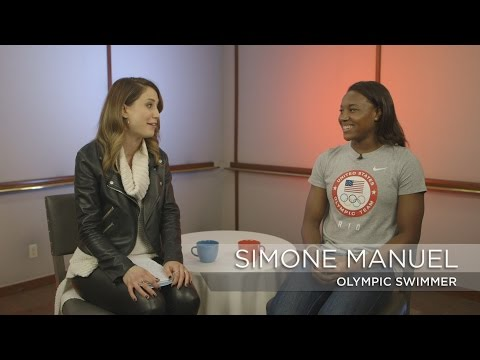 Simone Manuel discusses her gold-medal winning preparation | Rio Olympics 2016