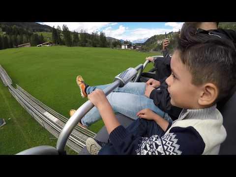 Longest Mountain Coaster in Switzerland/Swiss Alps