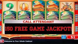 150 Free Spins!!! 10 Dollar Dynasty Riches! Handpay Jackpot! 🎉🎊🎉🎈🎉🎊🎈