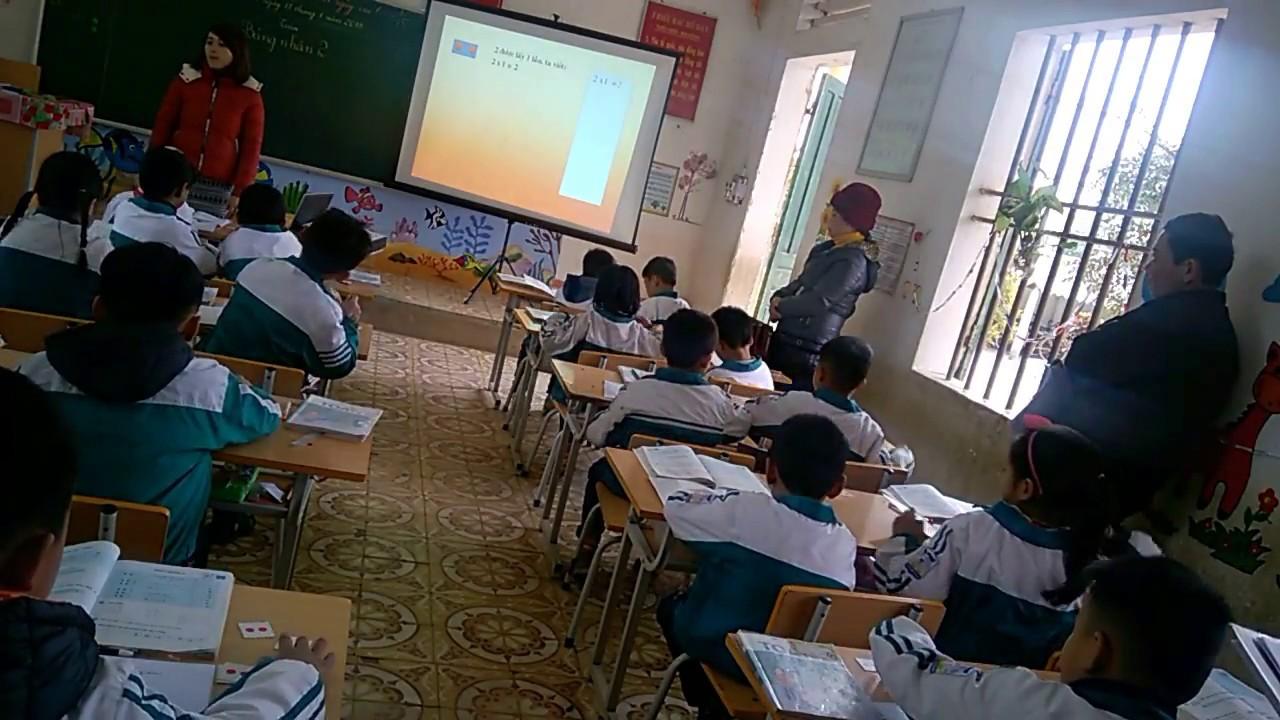 Bảng nhân 2|Toán lớp 2|Tiết dạy chuyên đề|Kênh bài Giảng|video quay trực  tiếp