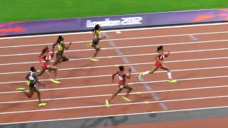 Olympics 2012 - Women's 200m Final