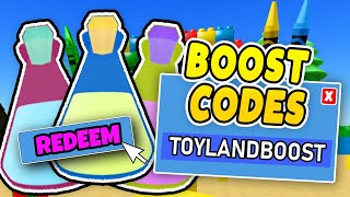 NEW CODES UNBOXING SIMULATOR - ToyLand Boost Update - Roblox