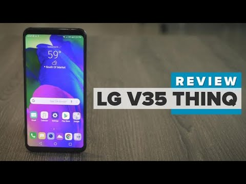 LG V35 ThinQ Review
