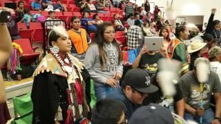 KD Edwards Gourd Dance & PowWow @ Bernalillo High School Drum 1 Twin Star