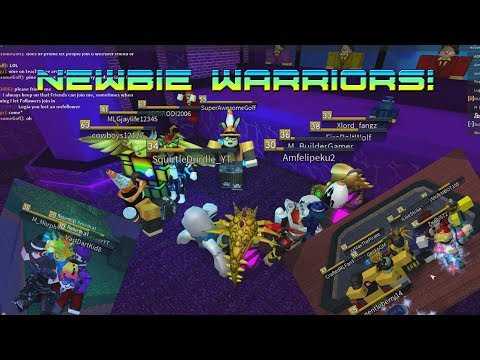 Roblox Flood Escape 2 Playing With The Newbie Warriors Youtube