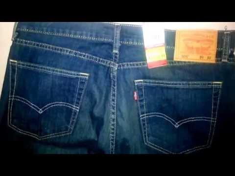 Jeans Levis 505 Originales Youtube
