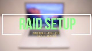 What is RAID 0 ? How To Setup an Apple RAID System (OS X El Capitan)