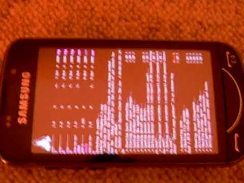 Linux Omnibuntu on a Samsung GT-B7610 Smartphone