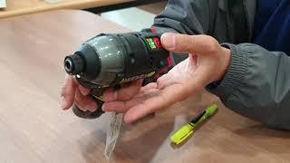 WORX 웍스 WU132 충전 임팩 드라이버 시동영상