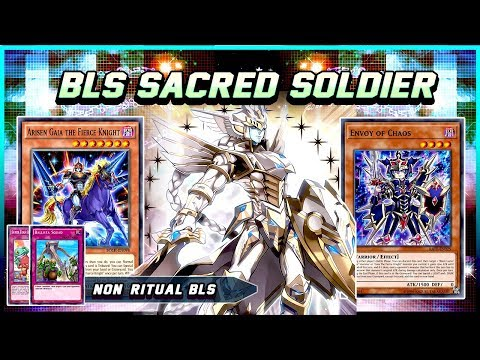 NEW BLACK LUSTER SOLDIER - SACRED SOLDIER COMBO FT ENVOY OF CHAOS [Yu-Gi-Oh! Duel Links]