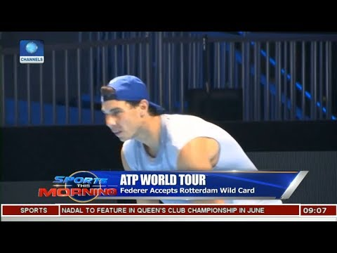 Federer Accepts Rotterdam Wild Card | Sports This Morning |
