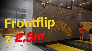 Frontflip z 2,5 m! | HOP Arena v Čestlicích