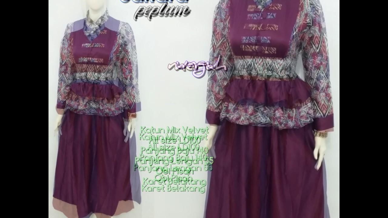 Wa 0878 3609 2333 Gamis Batik Muslimah Remaja Gamis Batik Muslimah