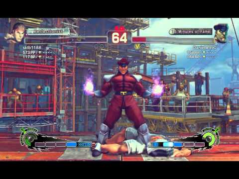 Ultra Street Fighter IV battle: Ryu vs M. Bison