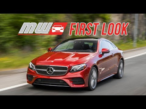 First Look: 2018 Mercedes-Benz E-Class Coupe - Lose the Doors