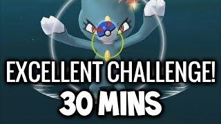 THE POKEMON GO EXCELLENT CHALLENGE! (POKEMON GO ROCK EVENT)