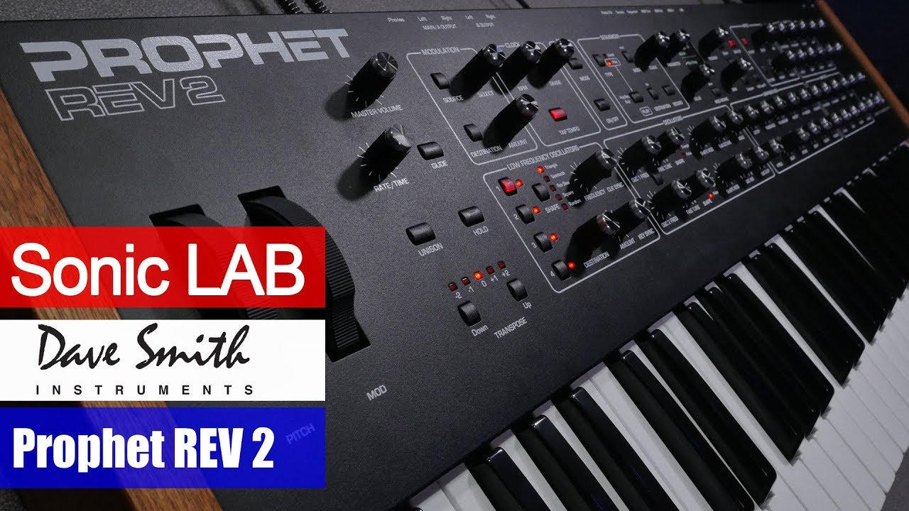 Download Prophet REV 2 Sonic LAB Review