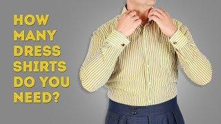 How Many Men's Dress Shirts Do You Really Need? thumbnail
