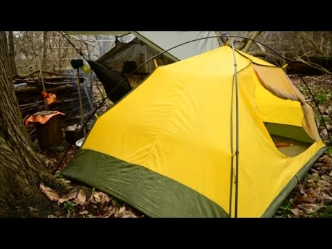 mould on your tent