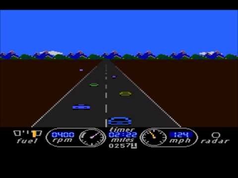 The Great American Cross-Country Road Race For The Atari 8-bit Family