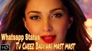 Tu cheez badi hai mast || Whatsapp Status 30sec Lyrical Video