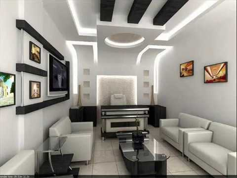 Decorations and new ideas Gypsum libraries for television