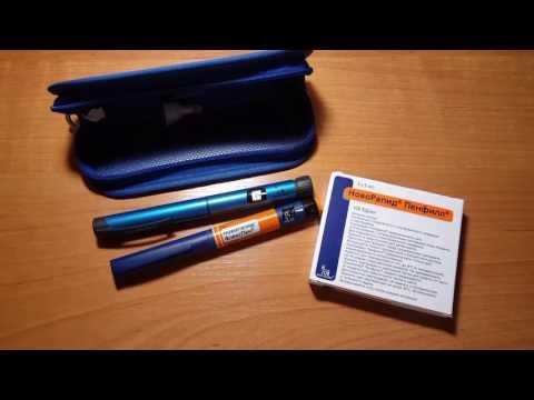 Как достать инсулин из одноразовой шприц-ручки