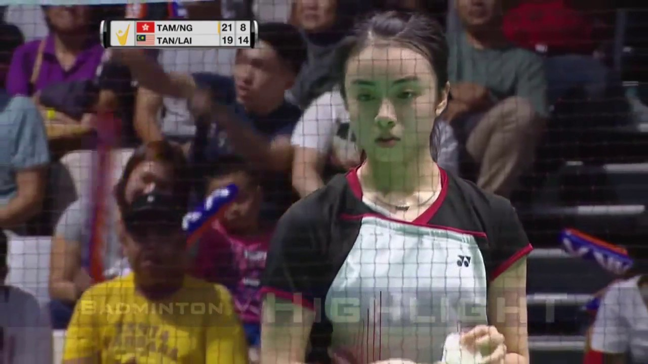 Badminton 2017 MalaysiaMaster TAN Kian Meng LAI Pei Jing vs TAM