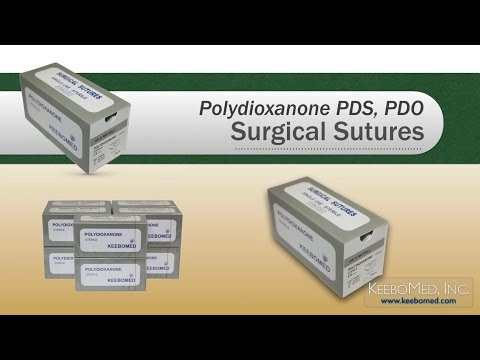 Polydioxanone PDS/PDO Surgical Sutures