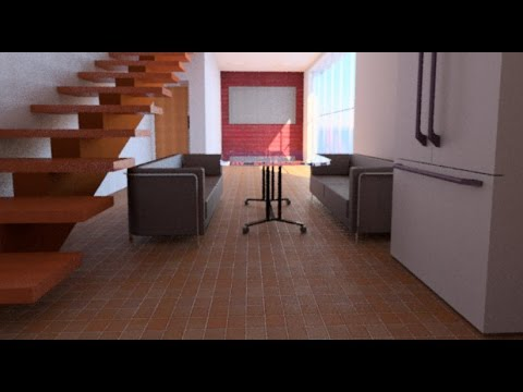 Making 3d Photorealistic Rendering In Autocad Youtube