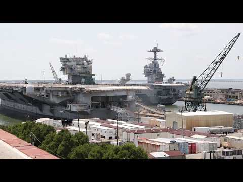 USS Gerald R Ford Post Shakedown Availability