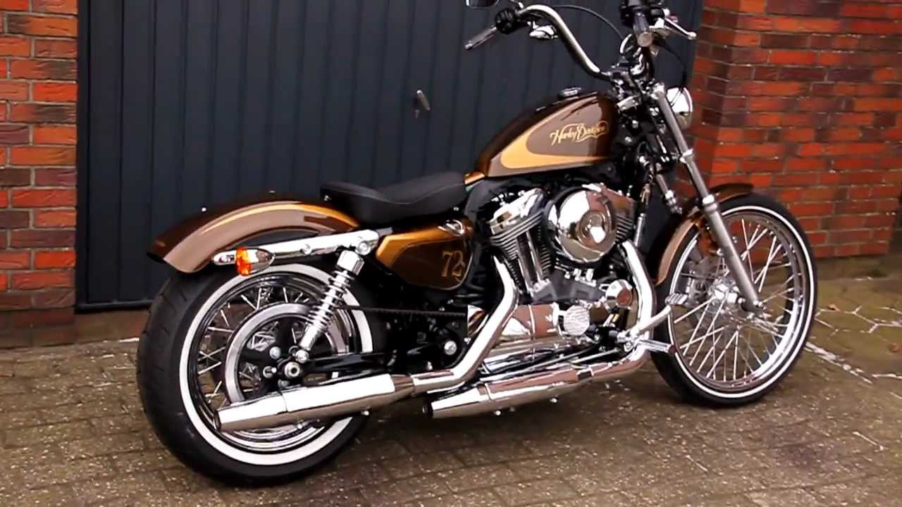 Harley Davidson Seventy Two 72 & Iron 883 Modelle 2012 - YouTube