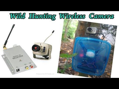 Making Wild Hunting (Arduino Motion Detection)Wireless Camera
