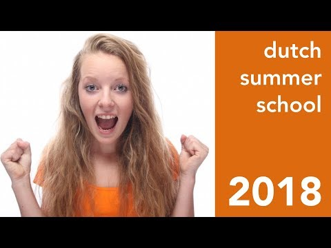 Learn Dutch during your 2018 Summer holiday!