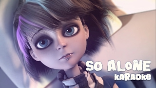 Anna Blue - So Alone (Official Karaoke Music Video)