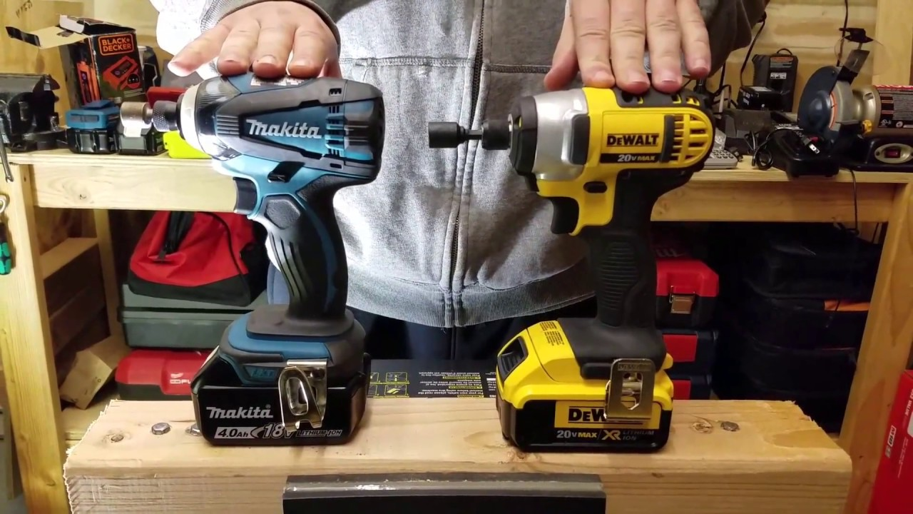 Dewalt Dcf855 Vs Makita Xtd04 Impact Driver Face Off