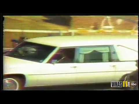 Elvis Presley funeral coverage from WHAS11's Jim Mitchell (August 16th, 1977)