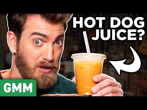 Mayan Mystery Drink Taste Test