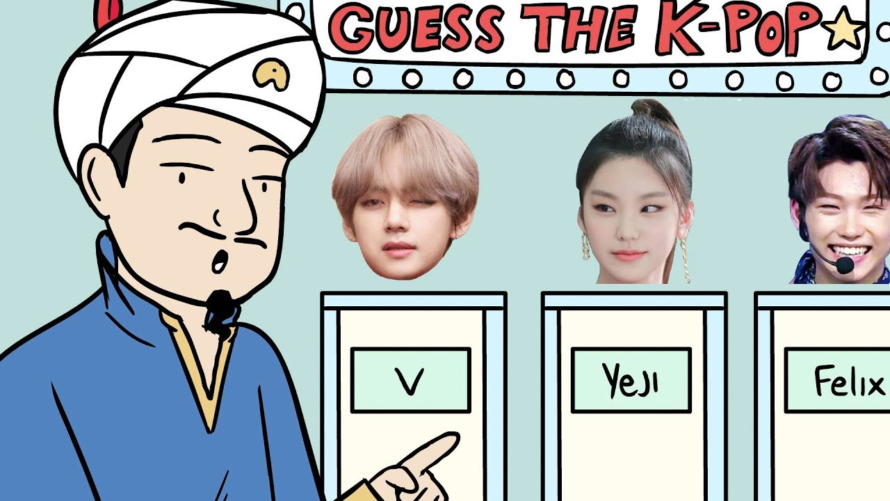 Can Akinator Guess The K Pop Idol Youtube