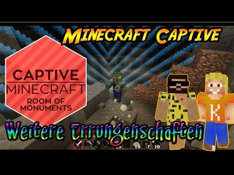 MINECRAFT CAPTIVE Weitere Errungenschaften Lets Play - Minecraft captive spiele