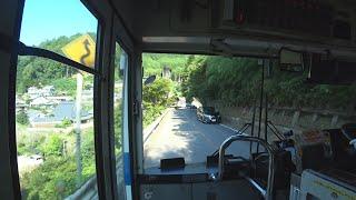 【前面展望】京都駅~栂ノ尾【西日本JRバス 高雄・京北線】
